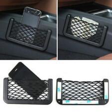 Car Storage Net String Pouch Bag Gps Phone Holder Pocket Organizer 6L