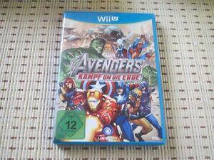 Marvel Avengers Kampf Um Die Erde für Nintendo Wii U *OVP*