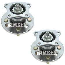 Pair Set 2 Rear Timken Wheel Bearing And Hub Kits for Chevrolet Geo Toyota FWD