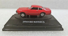 MOTORMAX 73950AC-MAV 1970 Ford Maverick, Red American Classics HO Scale. New