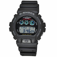 Casio G-Shock G6900-1D Men's Solar Classic Digital Dial Resin Band Black Watch