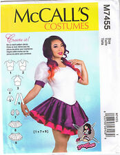 Skirted Peplum Leotard Cosplay YaYa Han Costume Sewing Pattern 14 16 18 20 22
