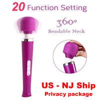 Magic Multi Speed Neck Body Personal Massage Wand Massager Vibrator For Women
