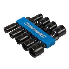 9-tlg. Satz Steckschlüssel  5 - 12 mm magnetisch