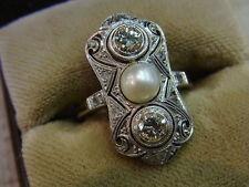 Reinheit SI Echte Diamanten-Ringe aus Platin mit Brilliantschliff