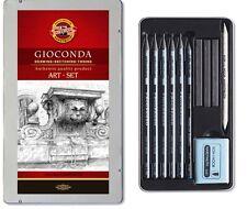 Koh-I-Noor 8894 Woodless Sketching Set - Assorted Gift Tin