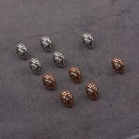 Superhero Copper Batman Connector Spacer Charm Bracelets Loose Beads DIY Beads