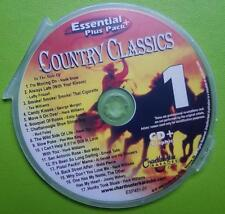COUNTRY CLASSICS 1 KARAOKE CDG CHARTBUSTER ESSENTIALS ESP451-1 CD+G MUSIC