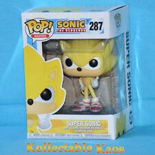 Funko Pop Super Sonic #287 The Hedgehog Vinyl Figure