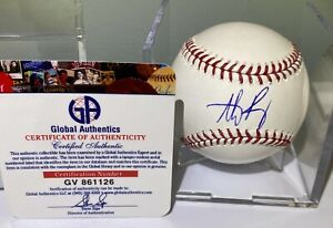 ANTHONY RIZZO AUTOGRAPHED BASEBALL CHICAGO CUBS WS CHAMP COA