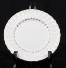 Royal Doulton Fine Bone English China Adrian Bread Plate White Gold Dinner