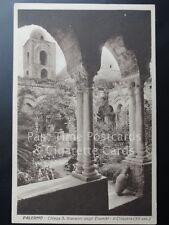 Old PC - Italy: Palermo - Chiesa S. Gioanni degli Eremiti, ll Chiostro (XLL sec)