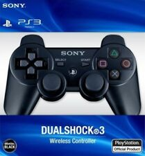 Playstation 3 DualShock  Gamepads PS 3 controller Black Wireless Bluetooth