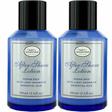 2PC THE ART OF SHAVING AFTER-SHAVE LOTION OCEAN KELP AROMATIC 3.3 oz ea NEW