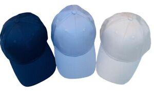 Unisex Casual Baseball Cap Adjustable Running Cricket Golf Summer Hat One Size