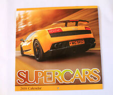 Traditional 2018 Calendar New Year Square Calender Month To Month SUPER CARS