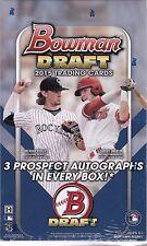 2015 Bowman Draft Baseball Jumbo Box  Ian Happ Andrew Benintendi Dansby Swanson