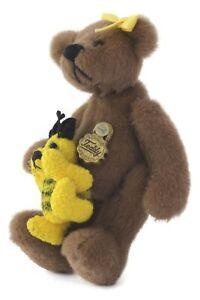 Hermann Teddy Bear Miniature Little Gem BUZZBEE Ltd Edition 317/2000 6cm Tall