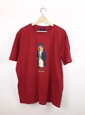 Vintage 90's Polo Sport Ralph Lauren Men's Short Sleeve Bear T-Shirt Red XL