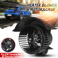 Heater Blower Motor & Cage For Audi Q7 RHD Porsche Cayenne RHD for VW