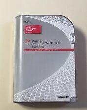 MS SQL Server 2008 Standard Vollversion deutsch inkl.10 Clients 228-08397 R1
