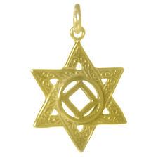 NA Narcotics Anonymous Jewelry, Symbol Pendant, #570-10 Large Size, 14k Gold