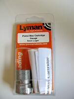 Lyman 7832330 'fits' 9mm Luger Pistol Max Cartridge Gauge