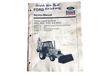 Ford New Holland Tractor Loader Backhoe 455D 555D 575D 655D Service Manual Vol 3