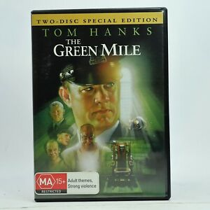 The Green Mile DVD Tom Hanks 2-Disc Set Good Condition Free Tracked Post