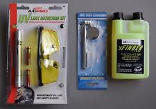 UV Lampe pour chercher les taches uv-schutzbrille auto climatiseurs R134a & HFC