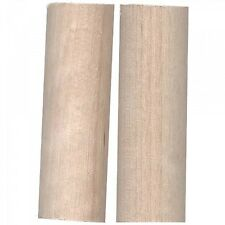 set of 2 WOODEN SPOOL ADAPTERs FOR USE WITH STAR COTTON THREAD~ROSECREST FARM
