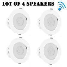"Lot of (4) Pyle PDICBTL4 In Wall/Ceiling, Flush Mount, 2 Way, 4"" Speakers Kit"