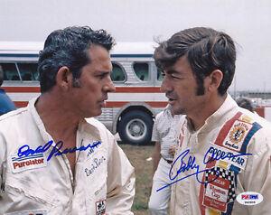 David Pearson & Bobby Allison DUAL SIGNED 8x10 Photo NASCAR PSA/DNA AUTOGRAPHED
