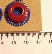 Kokarde blau rot 2 teilig neu (b80)