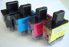 ANY 8 COMPATIBLE PRINTER INK CARTRIDGES FOR BROTHER DCP-115C DCP115C / 115 C