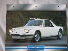 Matra 530LX Dream Cars Card