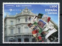 Spain 2019 MNH Creation Casa de America 25th Anniv 1v Set Architecture Stamps
