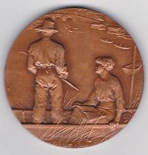 Médaille de PÊCHE à la Ligne en Bronze