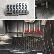 1pcs Car Floor Carpet Mats Non-slip Wearresistant Heel Plate Foot Rest Pedal Pad