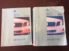 92-94 DIAMANTE Mitsubishi Service Repair Manuals vols 1&2 RARE