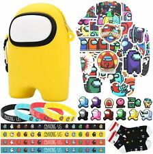 Among Game Us Birthday Party Supplies with Stickers Bracelets Socks 68pc