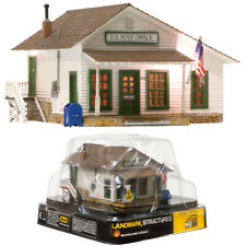 Woodland Scenics Letters/Parcels & Post Built & Ready Structure Assmbld HO Scale
