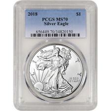 2018 American Silver Eagle - PCGS MS70
