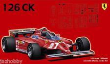 Fujimi GP4 1/20 Scale Model Formula One Kit Ferrari 126CK Villeneuve/Pironi '81