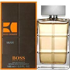 Hugo Boss ORANGE MAN 100ml (3.3 Fl.Oz) Eau De Toilette EDT NEUF