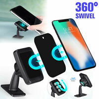 Universal 360° Magnetic Car Mount Holder Stand Stick Phone For Cell On Dash D1N9