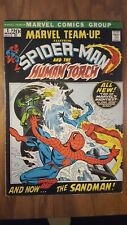 Marvel Team Up #1 Spider-Man Human Torch 1st app MISTY KNIGHT Fine