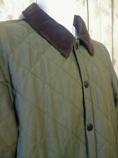 BARBOUR Men's Quilted Shooting Jacket Size Small / Medium - Eskdale Green