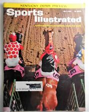 May 6, 1963  Racing Sports Illustrated Candy Spots Kentucky Derby Horse On Cover