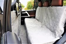 Suv Truck Car Back Seat Cover For Dogs and Cats. Quilted & Padded. Gray.  New